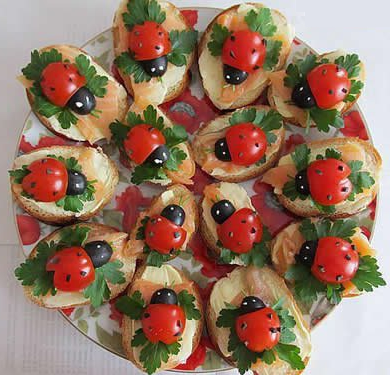 Lady Bug Hors d'oeuvres