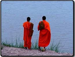 Two Monks by a River